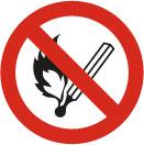 Prohibido hacer fuego